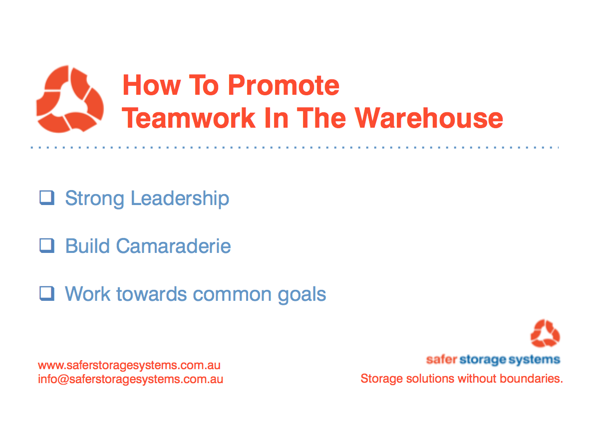 teamwork in the warehouse safer storage systems pallet racking teamwork in the warehouse
