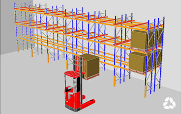 Increase Storage Capacity with Double Deep Pallet Racking