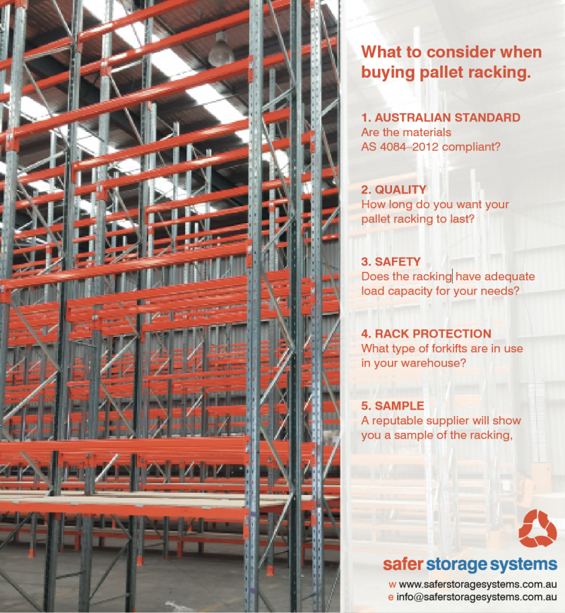 What to consider when buying pallet racking