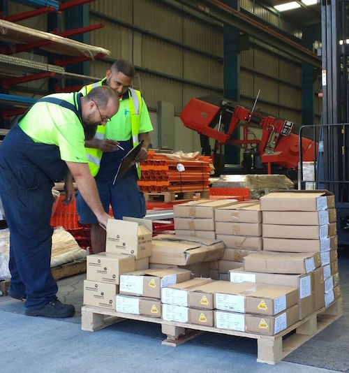 Room Store Warehouse: Goods Reiving & Inspecting Incoming Stock