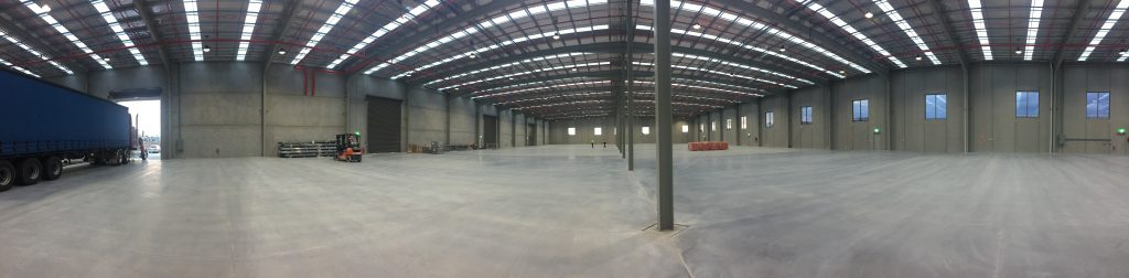 The new Biscay Greetings warehouse