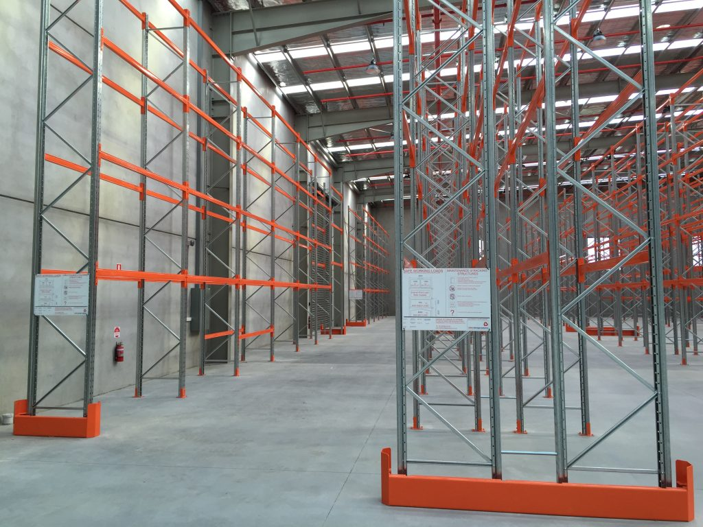 Biscay Greetings Pallet Racking